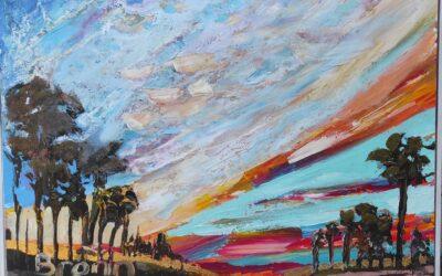 Painting landscapes plein air